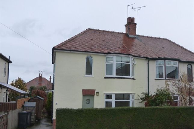 Thumbnail Semi-detached house to rent in Coniston Road, Harrogate