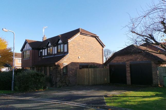 Thumbnail Detached house to rent in Hollywood Close, Gonerby Hill Foot, Grantham