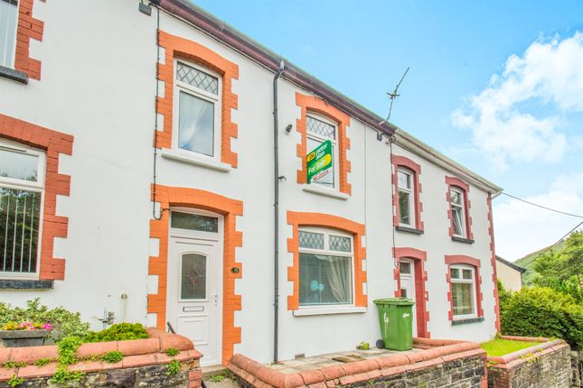 Thumbnail Terraced house for sale in Cefn Road, Deri, Bargoed