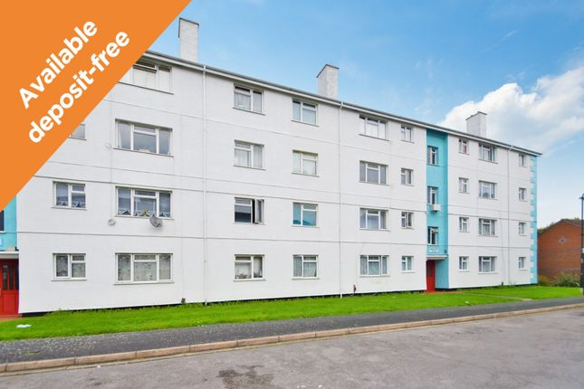 Thumbnail Flat to rent in Fullerton Close, Southampton