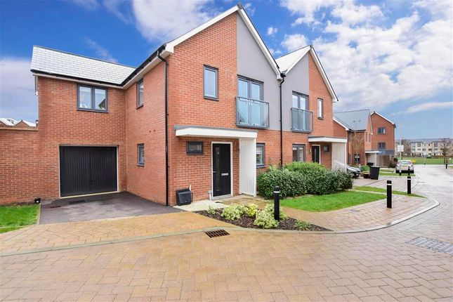 Thumbnail Semi-detached house for sale in Conrad Mews, Northfleet, Gravesend, Kent