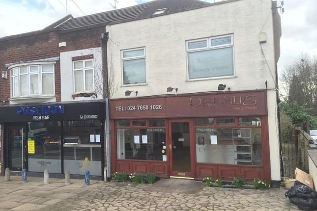 Thumbnail Retail premises to let in 42 Daventry Road, 42, Daventry Road, Coventry