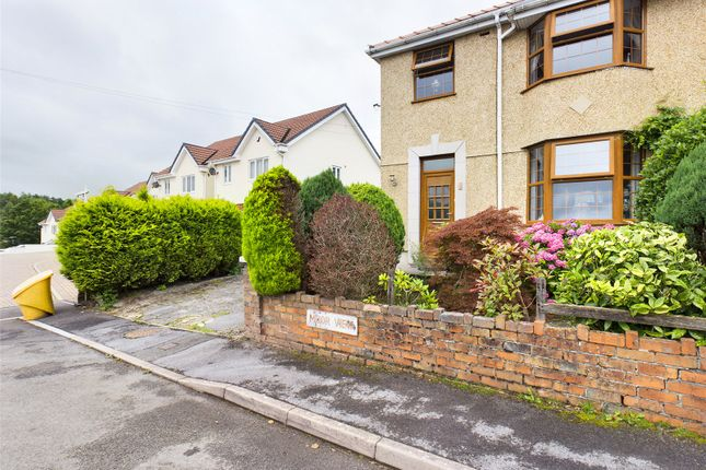 Thumbnail Semi-detached house for sale in Moor View, Rassau, Ebbw Vale, Gwent