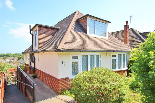 Thumbnail Detached bungalow for sale in Midwood Avenue, Bournemouth