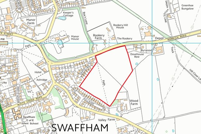 Thumbnail Land for sale in North Pickenham Road, Swaffham