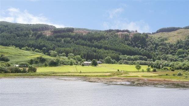 Thumbnail Farm for sale in Kames Farm, Kilmelford, Oban, Argyll And Bute