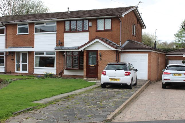 Thumbnail Semi-detached house for sale in Colchester Drive, Farnworth