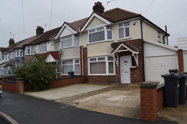 Semi-detached house for sale in St. Leonards Gardens, Heston, Hounslow