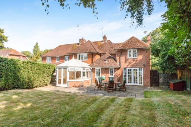 Thumbnail Semi-detached house for sale in South Warnborough, Hook, Hampshire