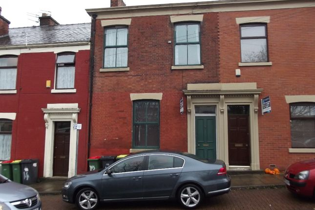 Thumbnail Terraced house to rent in Christian Road, Preston