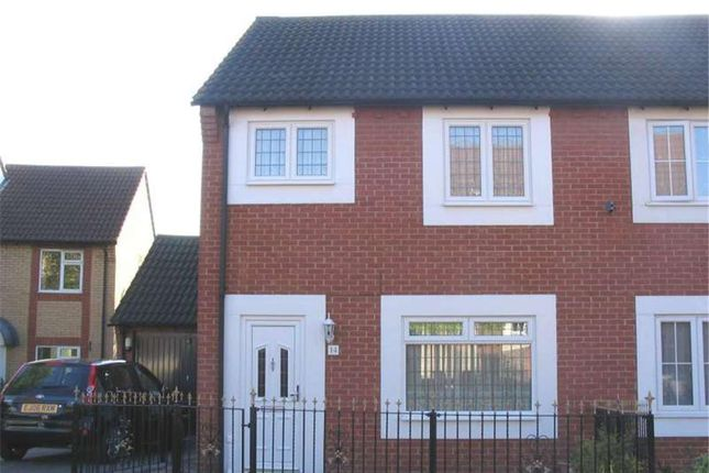 Thumbnail Semi-detached house to rent in Devereux Road, Chafford Hundred, Grays