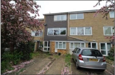 Thumbnail Terraced house for sale in Bridgefield Close, Colchester