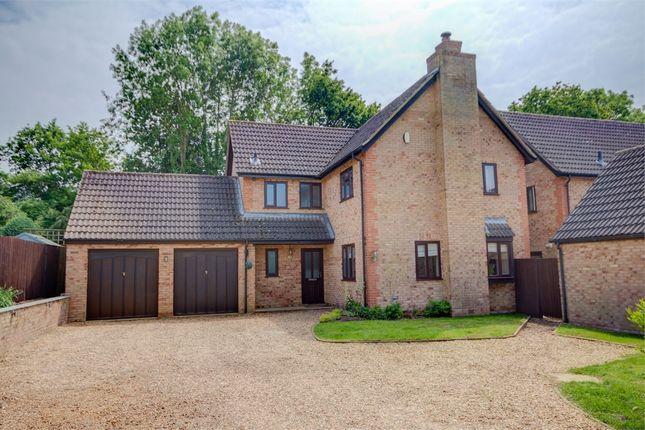 Thumbnail Detached house for sale in Sarek Park, West Hunsbury, Northampton