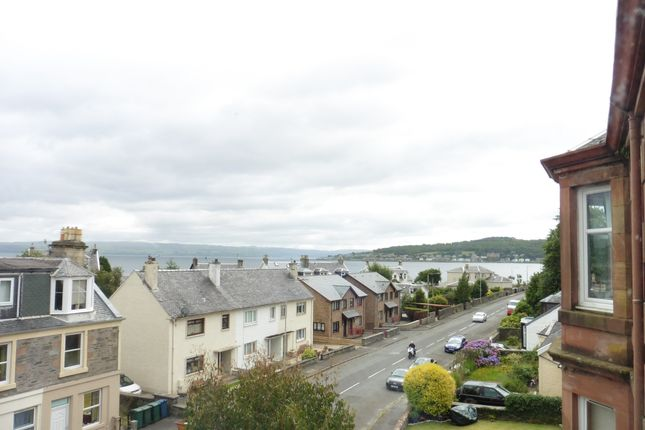 View From Lounge of 73 Ardbeg Road, Rothesay, Isle Of Bute PA20