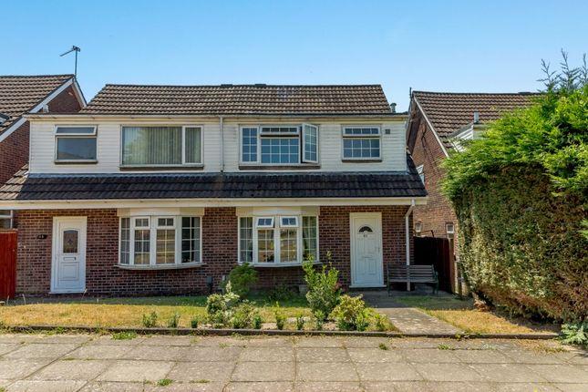 Thumbnail Semi-detached house for sale in Glyn Rhosyn, Cardiff, Caerdydd