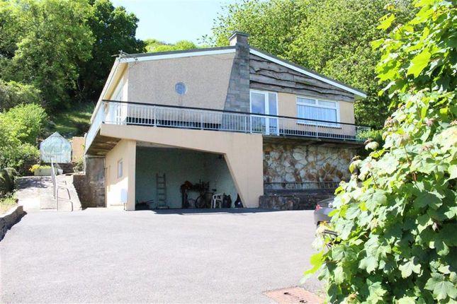 Thumbnail Detached bungalow for sale in Glen Road, West Cross, Swansea