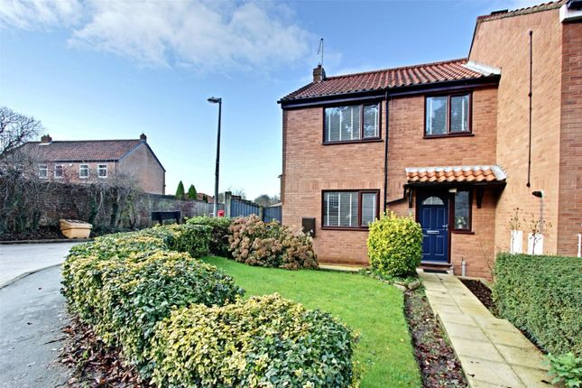 Thumbnail End terrace house for sale in Market Place, South Cave