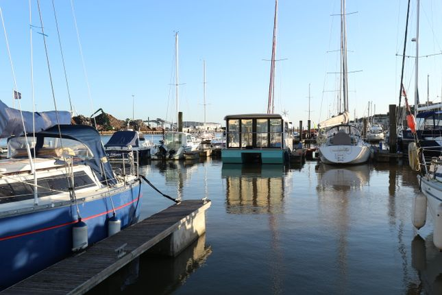 Thumbnail Houseboat for sale in The Yacht Harbour, Fort Road, Newhaven