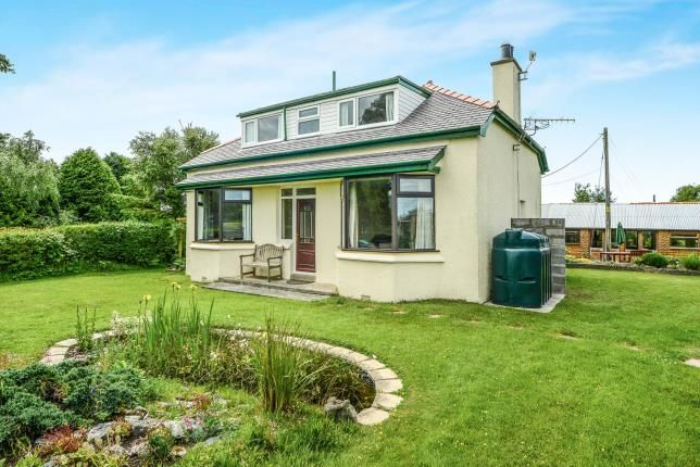 Thumbnail Detached house for sale in Llansadwrn, Sir Ynys Mon, Anglesey