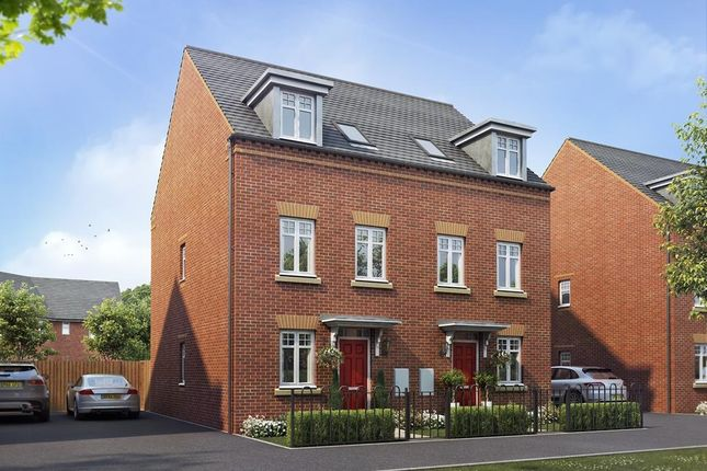 "Thumbnail Semi-detached house for sale in ""Buckley"" at Warkton Lane, Barton Seagrave, Kettering"