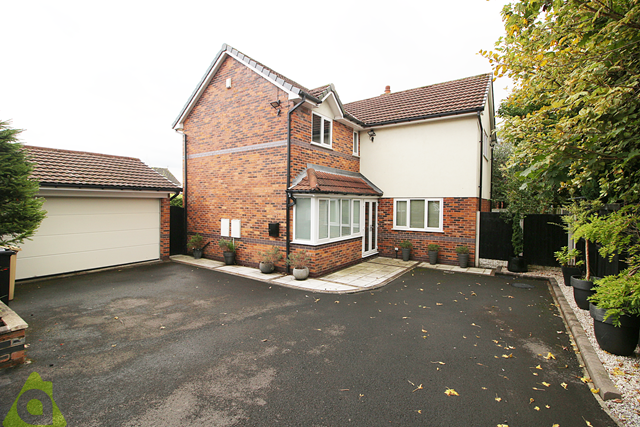 Thumbnail Detached house for sale in Redwood, Westhoughton