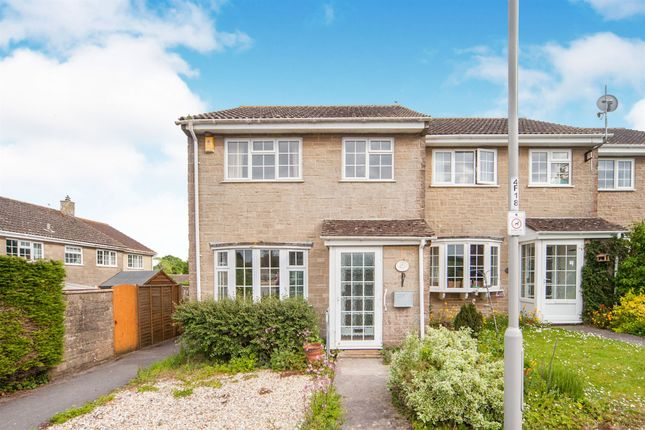 Thumbnail End terrace house for sale in Fairoak Way, Mosterton, Beaminster