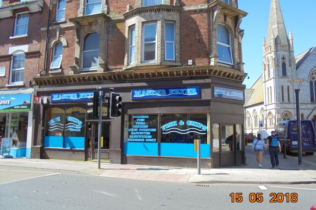 Thumbnail Restaurant/cafe for sale in 14 Rolle Street, Exmouth, Devon