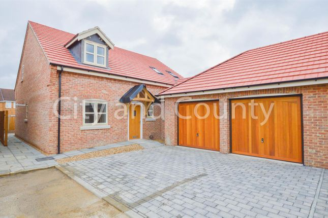 Thumbnail Detached house for sale in Eastlands, Crowland, Peterborough