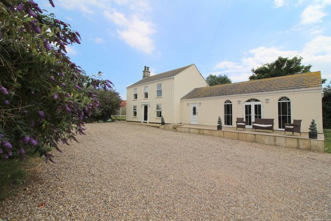 Thumbnail Farmhouse for sale in West End, West Caister, Great Yarmouth