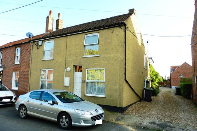 Thumbnail End terrace house for sale in Victoria Street, Billinghay, Lincoln
