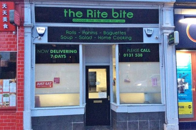 Restaurant/cafe for sale in 546 Gorgie Road, Edinburgh