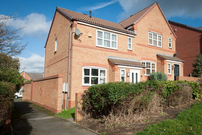 Thumbnail Semi-detached house for sale in Hedging Lane, Wilnecote, Tamworth