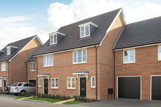 Thumbnail Terraced house for sale in Verbena Drive, Cresswell Park, Angmering, West Sussex