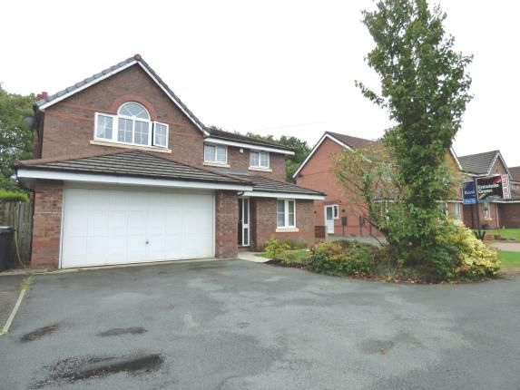 Thumbnail Detached house for sale in Moorfield Close, Penwortham, Preston, Lancashire