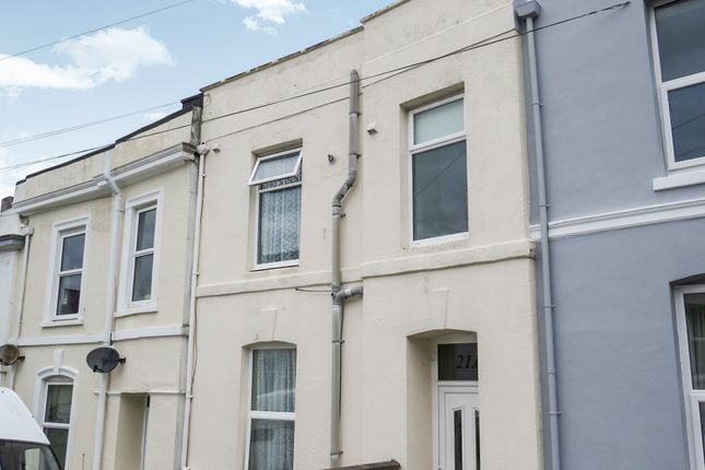 Thumbnail Maisonette for sale in Arundel Crescent, North Road West, Plymouth