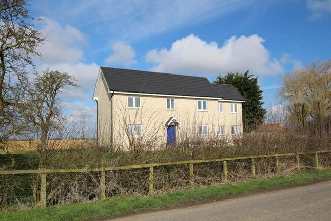 Thumbnail Detached house for sale in Cock Fen Road, Welney, Wisbech