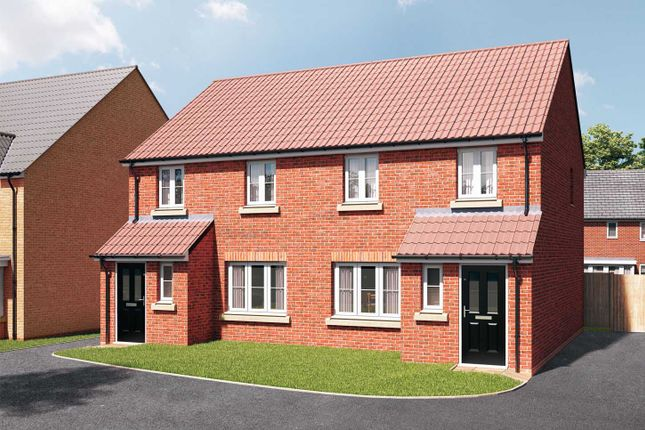 """3 bedroom semi-detached house for sale in """"The Marston"""" at Stoney Haggs Road, Scarborough"""