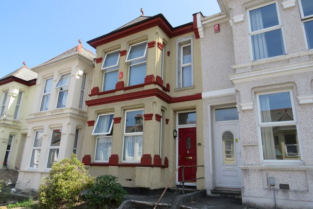 Thumbnail Terraced house for sale in Beresford Street, Stoke, Plymouth