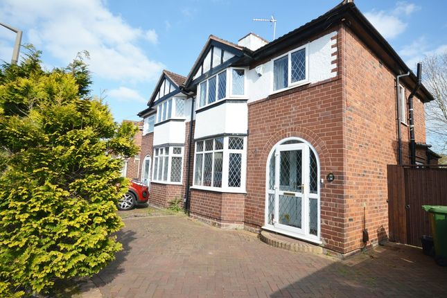 Thumbnail Semi-detached house for sale in Cheshire Avenue, Shirley, Solihull