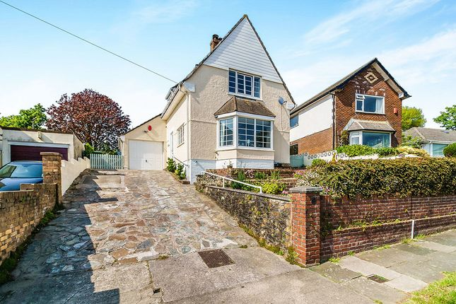 Thumbnail Detached house for sale in Darwin Crescent, Laira, Plymouth