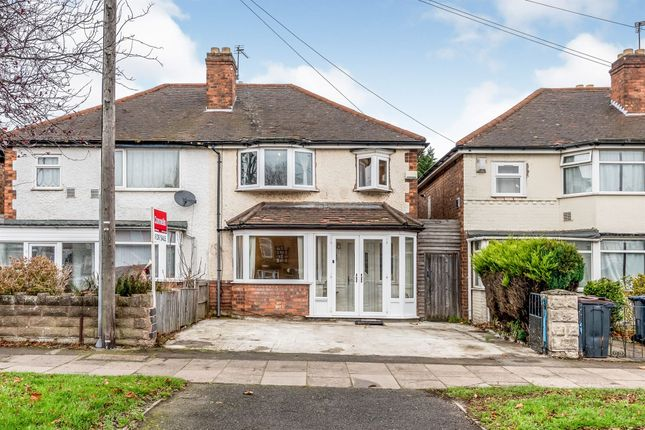 3 bed semi-detached house for sale in Marsh Hill, Erdington, Birmingham B23