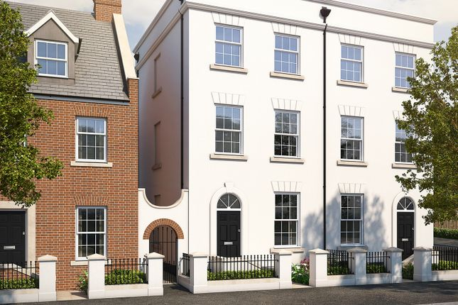 """Thumbnail Semi-detached house for sale in """"The Clovelly"""" at Haye Road, Sherford, Plymouth"""