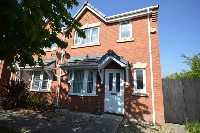 Thumbnail End terrace house to rent in Naylor Walk, Ellesmere Port