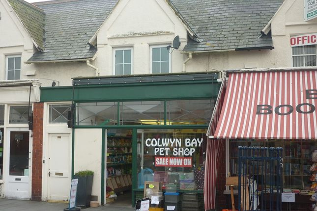 Thumbnail Retail premises for sale in Seaview Road, Colwyn Bay