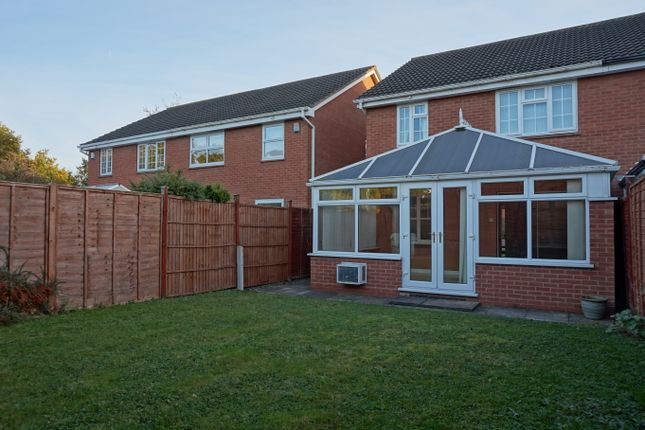 Thumbnail Semi-detached house for sale in Pettiford Close, Lichfield
