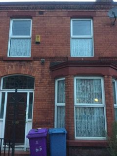 Thumbnail Shared accommodation to rent in Cranborne, Liverpool