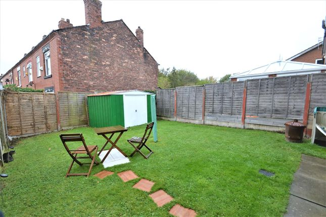 Rear Garden of Glenview Road, Tyldesley, Manchester M29
