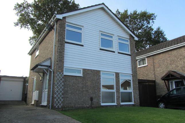 Thumbnail Detached house to rent in Cranbourne Park, Hedge End, Southampton