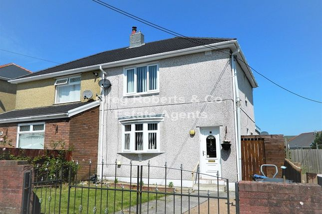 Thumbnail Semi-detached house for sale in The Crescent, Tredegar, Blaenau Gwent.