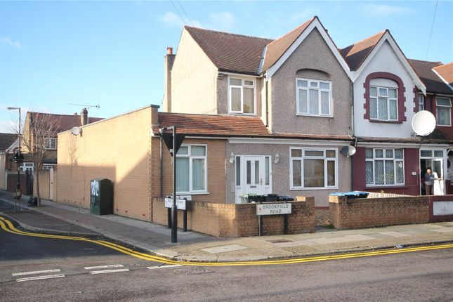 Thumbnail End terrace house for sale in Brookfield Road, London